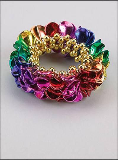 Leaf Style Bracelets Rainbow Theme