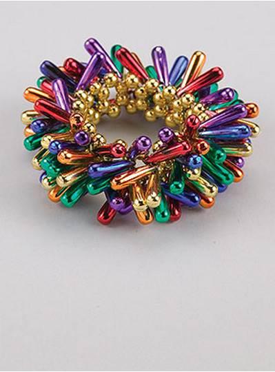 Teardrop Style Bracelets Rainbow Theme