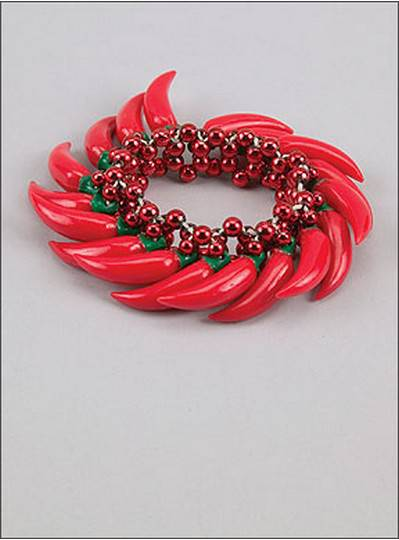 Theme Bracelets Red Chili Peppers