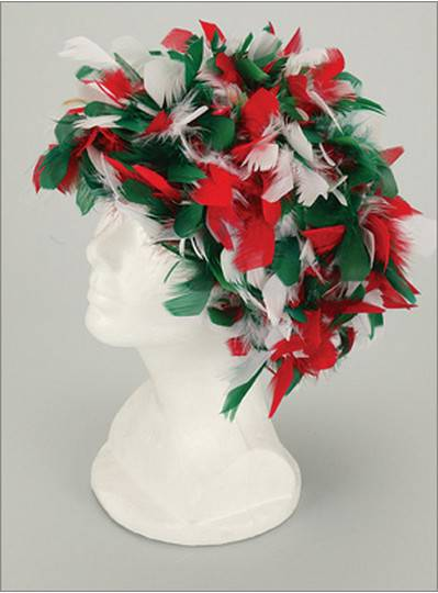 Feather Boa Headpiece