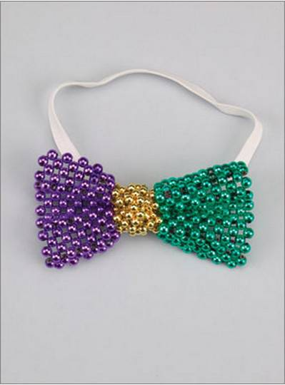 Beaded Bow Tie