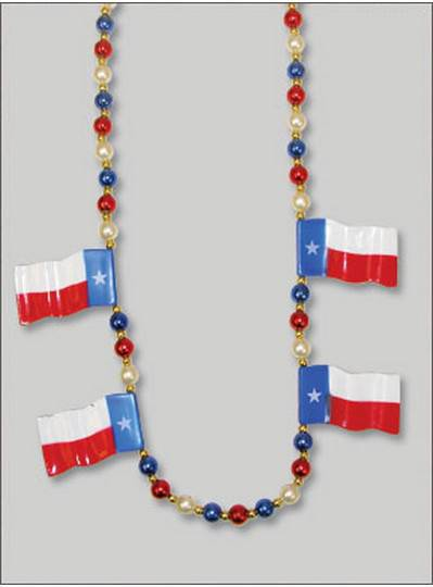 Patriotic Beads Texas Flags