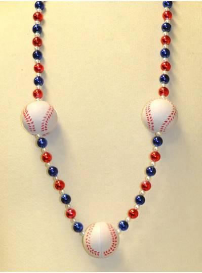 Sports Themes Baseball Beads