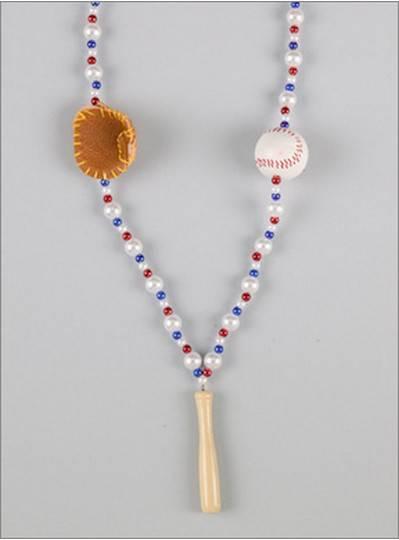 Sports Themes Baseball Bat Beads