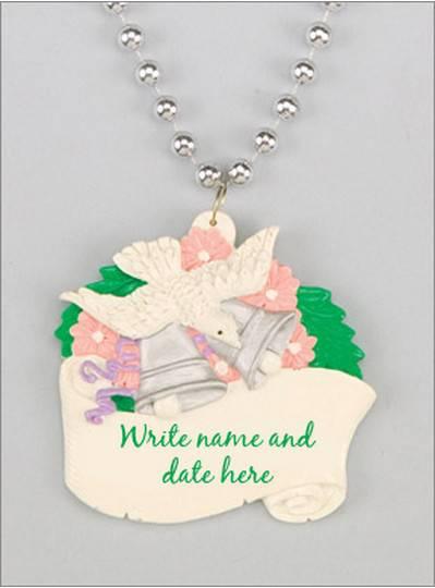 Wedding Beads Dove & Custom