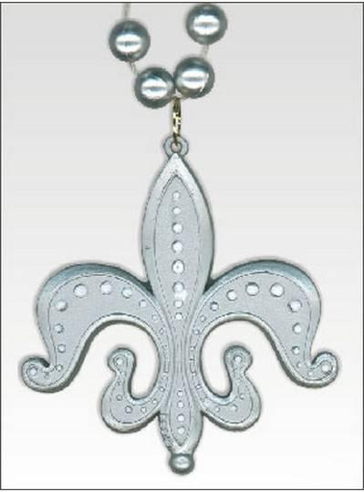 Fleur de Lis Themes Fleur de lis Silver Medallions