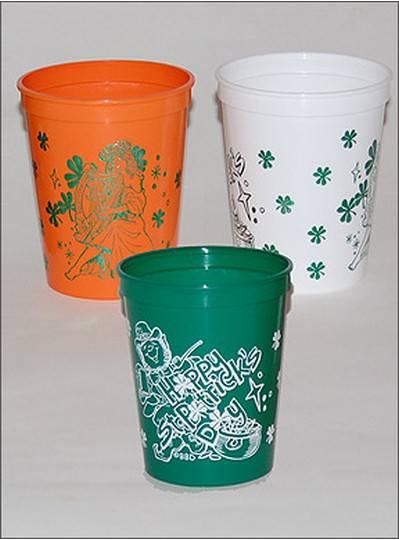 Saint Patricks Day Cups