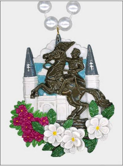 New Orleans Themes St Louis Cathedral Bead