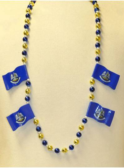 New Orleans Beads Louisiana State Flags