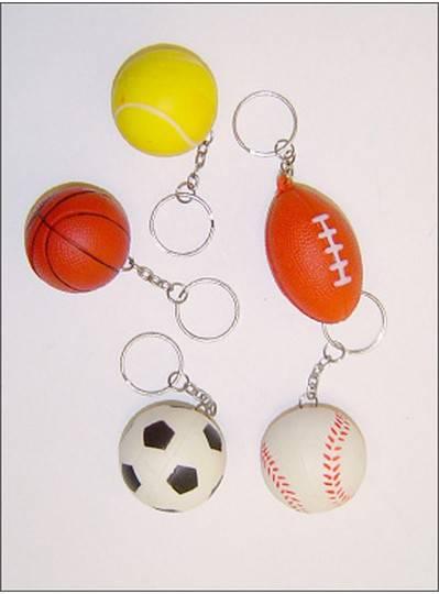 Sports Themes Sports Keychain Mix