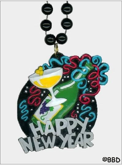 New Years Mardi Gras Beads