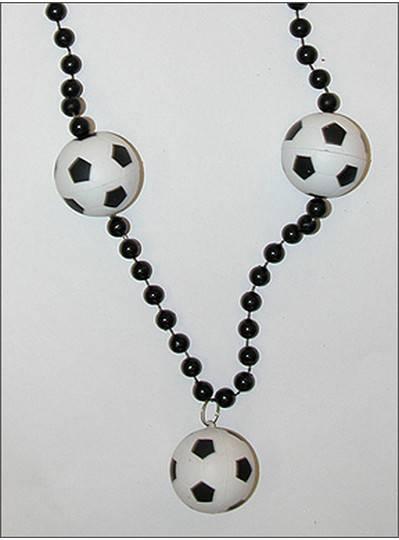 Sports Themes Soccer Balls Black