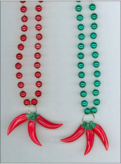 Red Chili Pepper Beads