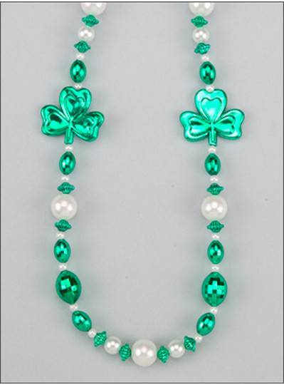 Irish Themes Shamrocks & Pearls