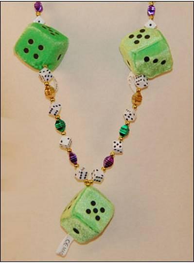Casino Mardi Gras Beads