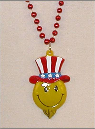 Smily Face Beads Uncle Sam
