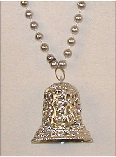 Wedding Beads Silver Bell