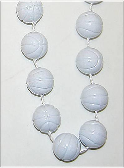 Sports Themes Basketballs Opaque White