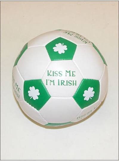 Irish Themes Irish Vinyl Soccer Ball