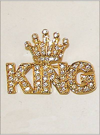 Gift Items Gold King Pin Crown