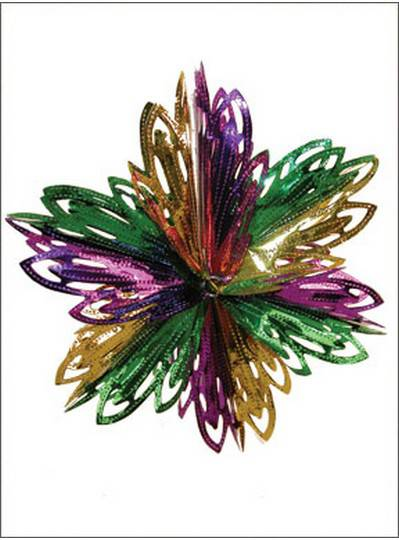 Decorations Foil Starburst