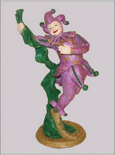 Decorations Jester Statue with Scarf