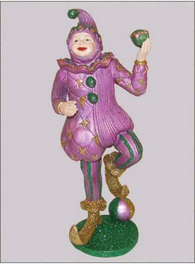 Decorations Jester Statue with Ball