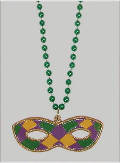 Mardi Gras Themes Glitter Mask