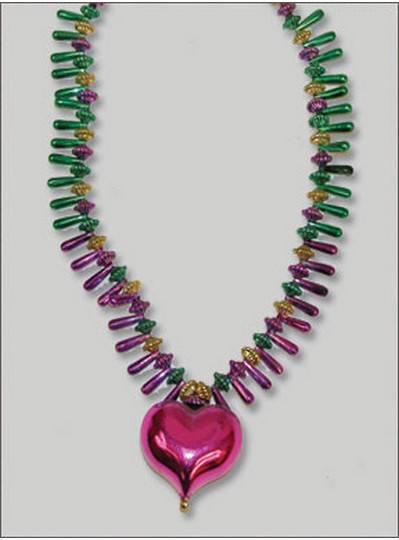 Mardi Gras Themes Purple Heart