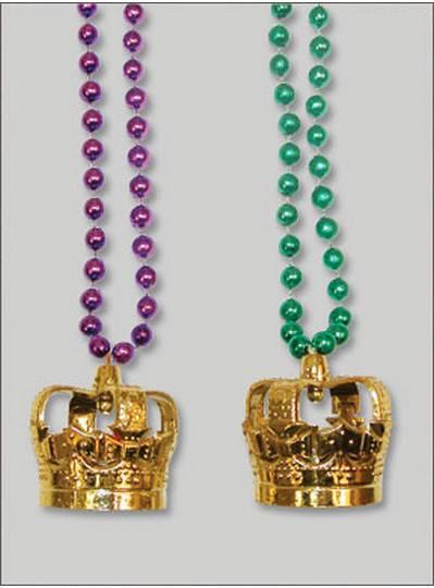 Mardi Gras Themes Gold Crown Mix