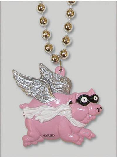 Creatures & Critters Flying Pig