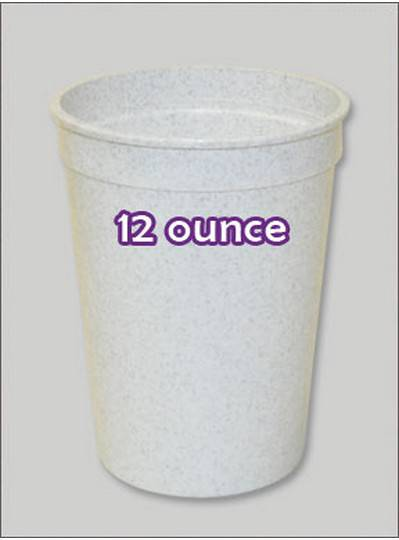 Plastic Cups 12 Ounce Granite