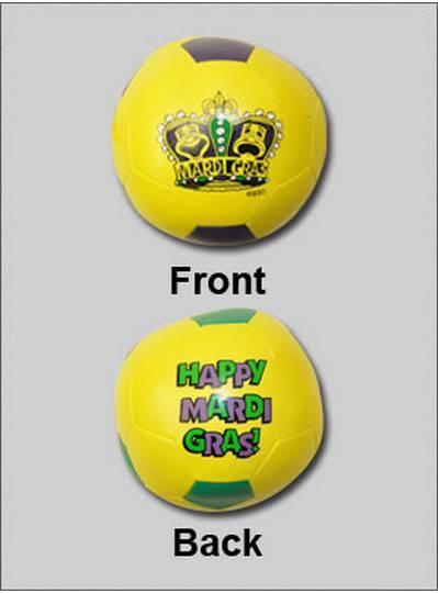 "Plush Toys 4"" Crown Vinyl Soccerball"