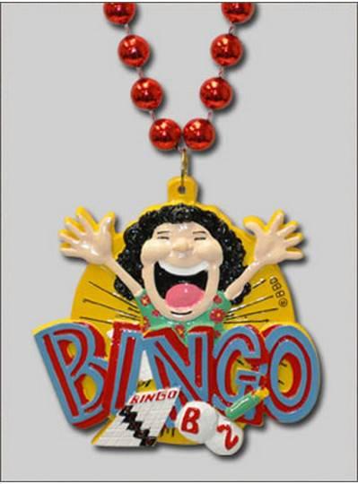 Sports Themes BINGO Lady