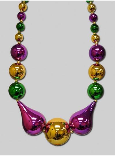 Mardi Gras Theme Beads