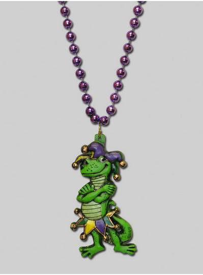 Mardi Gras Themes Jester Gecko