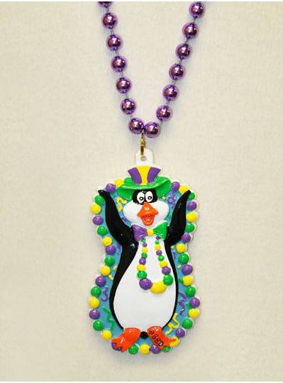Mardi Gras Themes Penguin