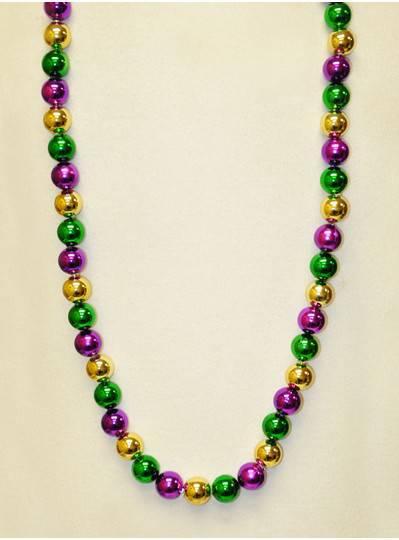 Mardi Gras Themes Alternating PGG Bead