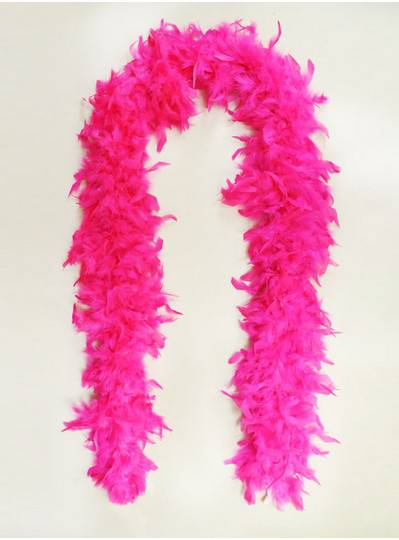 Feather Boa Hot Pink Light Weight