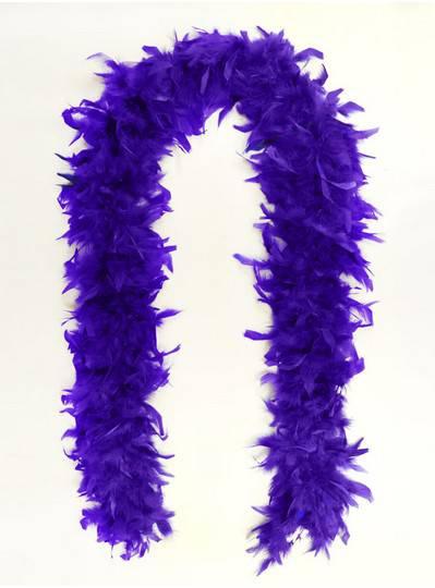 Feather Boa Purple Light Weight