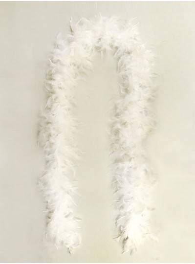 Feather Boa White Light Weight