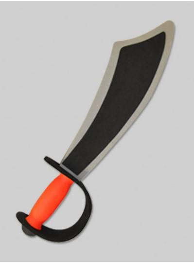 Plush Toys - Foam Pirate Sword in Red & Black