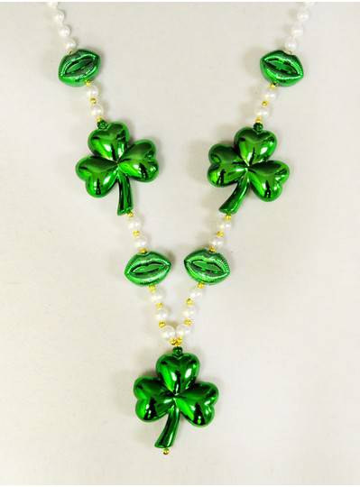 Irish Themes - Clovers, Lips and White Pearls