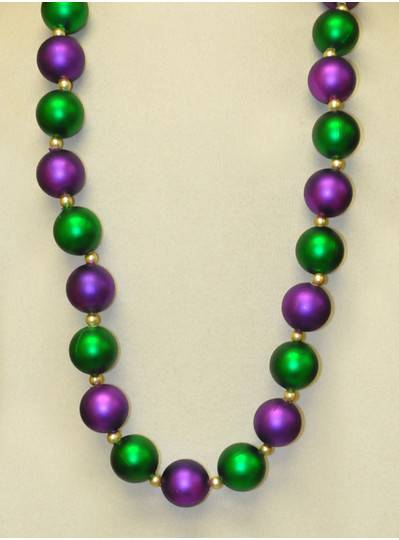 Mardi Gras Themes- Alternating Purple, Green & Gold