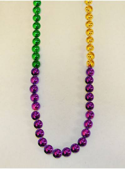Mardi Gras Themes Alternating PGG Beads
