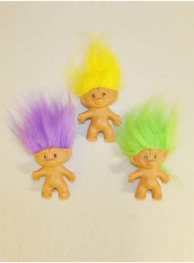 """Plush Dolls & Toys - 3"""" Troll Dolls"""