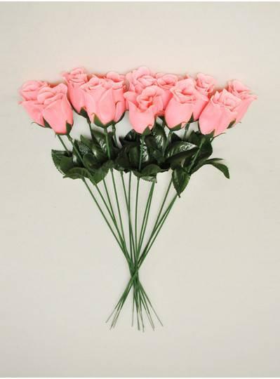 "Plush Dolls & Toys - Pink 16"" Long Stem Roses"