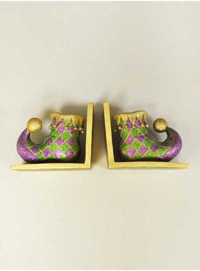 "Decorations - 5"" X 6"" Jester Bookends"