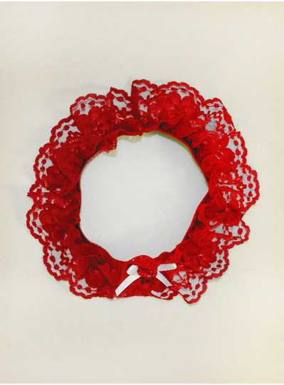 Fun Accessories - Ladies Red Garter