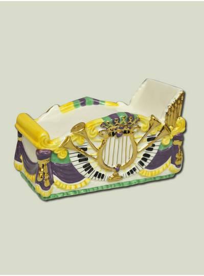 """Decorations - 7"""" Ceramic Piano Float"""